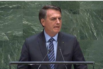 bolsonaro na onu 360x240 - BRASIL PERFEITO! Bolsonaro pinta na ONU retrato distorcido do país em discurso para base radical