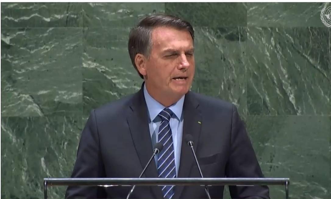 bolsonaro na onu - BRASIL PERFEITO! Bolsonaro pinta na ONU retrato distorcido do país em discurso para base radical