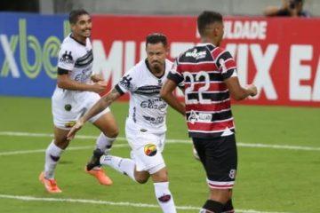 Botafogo-PB e Santa Cruz empatam em 1 a 1 na Arena de Pernambuco