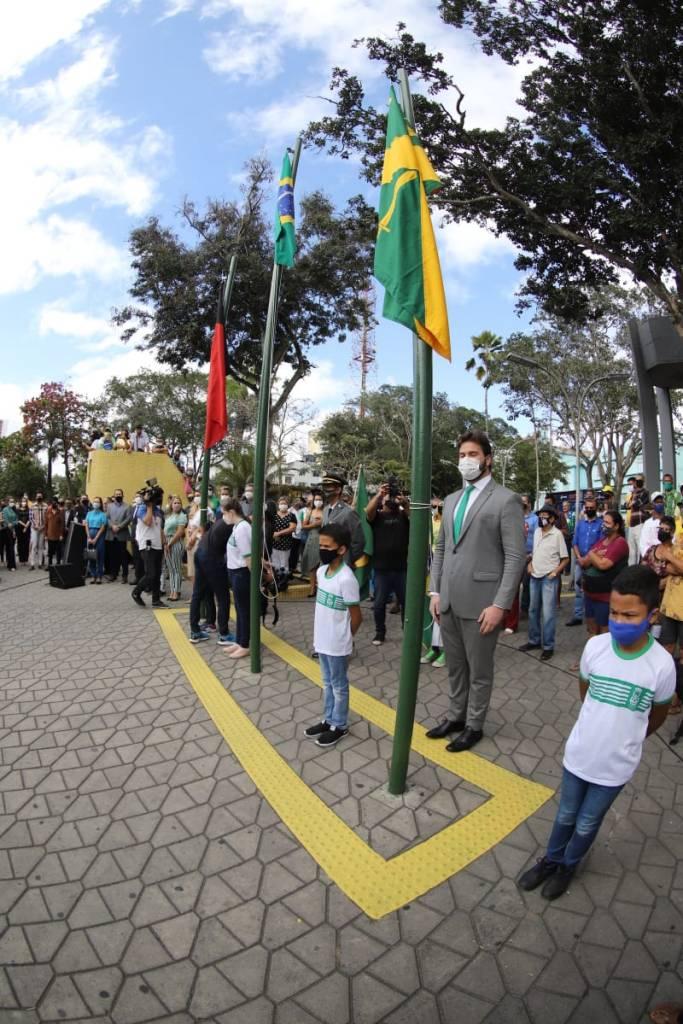 bruno cunha lima - Campina Grande já registra primeiras manifestações favoráveis e contrárias a Bolsonaro - VEJA IMAGENS