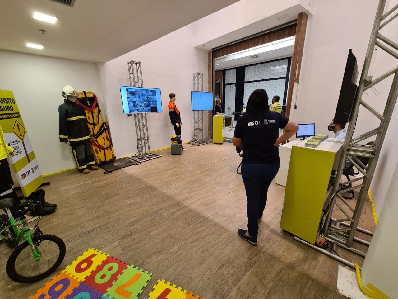 c4ca4238a0b923820dcc509a6f75849b 8 - STTP realiza ações da Semana Nacional de Trânsito em Shopping de Campina Grande