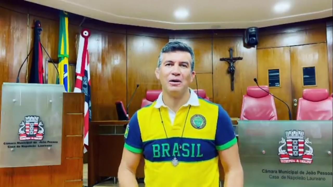 """carlao pelo bem convite - Vereador Carlão publica vídeo em defesa das manifestações: """"Não existe independência sem liberdade"""" - ASSISTA"""