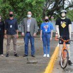 ciclista 1 150x150 - Detran-PB instala protótipos de ciclistas na pista de provas para avaliação de candidatos