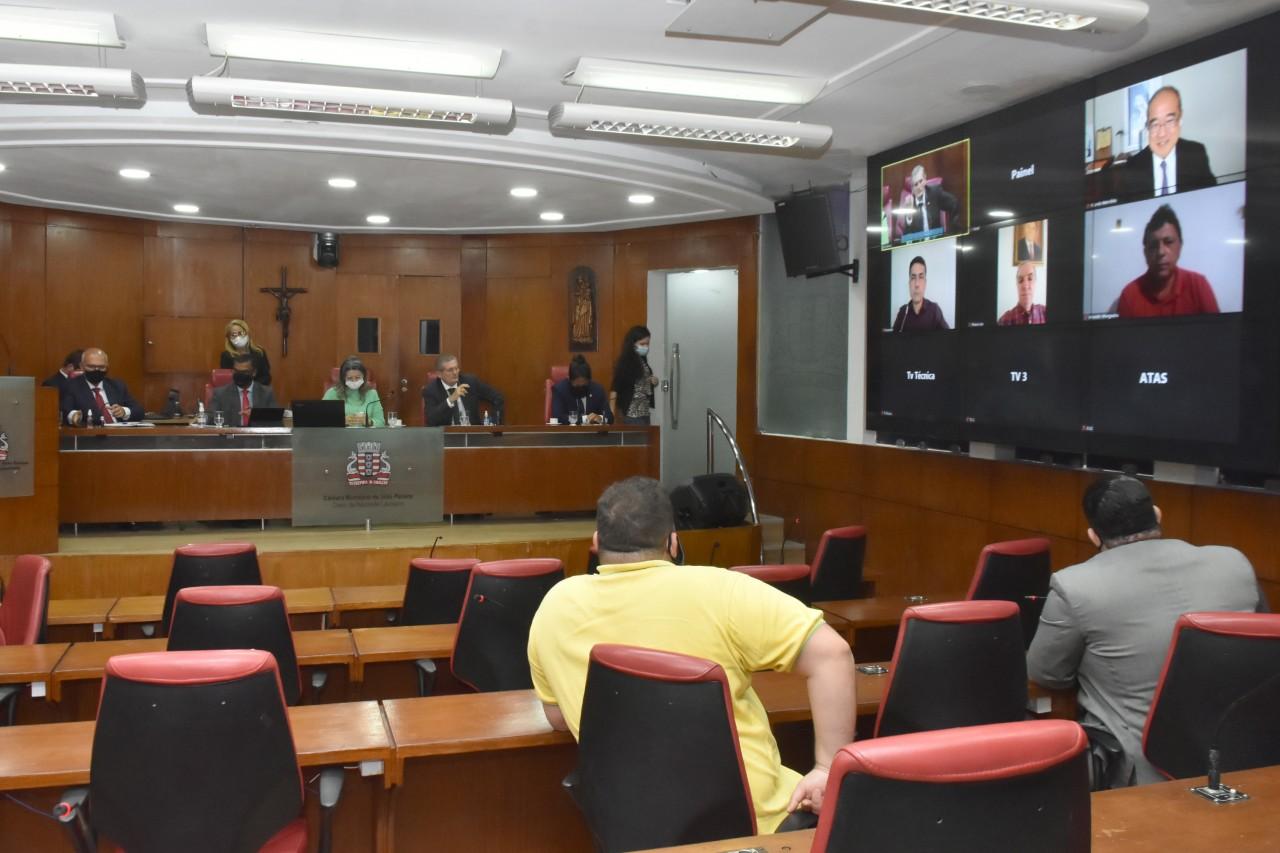 cpi banda larga cmjp - CPI da Banda Larga é instalada na Câmara de João Pessoa e define primeiras ações