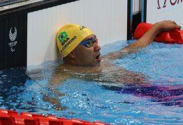 PARALIMPÍADAS DE TÓQUIO: paraibano Ronystony Cordeiro fica em 5º nos 50 m livre
