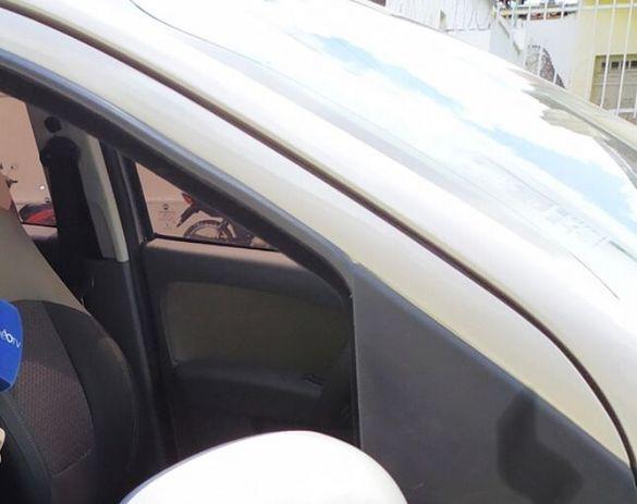 csm CARRO REDEB 94fa70ee4d - Equipe de reportagem de web TV é sequestrada em João Pessoa