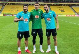 TRIO DE FORÇA! Com três paraibanos, seleção joga contra o Peru pelas eliminatórias