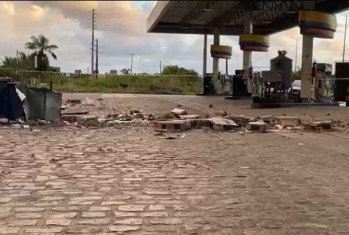 csm POSTO DE COMBUSTIVEIS 1e98442a4d - Bandidos explodem cofre de posto de combustíveis em João Pessoa
