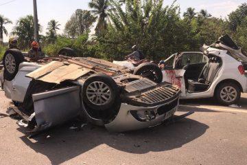 csm acidente br 230 paraiba jp foto flavio fernandes 66f31cd623 360x240 - Homem morre e sete pessoas ficam feridas em acidente na BR-230