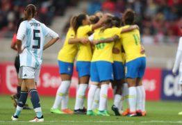 Argentina anuncia que não poderá enfrentar seleção brasileira em amistosos na Paraíba