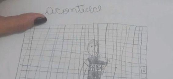 csm desenho menina escola estupro paraiba 3ff88c5730 - Idoso é preso na PB após neta denunciar estupros através de desenhos na escola