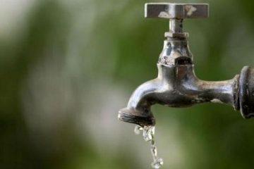 Fornecimento de água será suspenso em 26 locais da Região Metropolitana de João Pessoa nesta terça-feira; confira