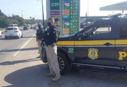 PRF faz monitoramento nas rodovias e caminhoneiros negam bloqueios na Paraíba