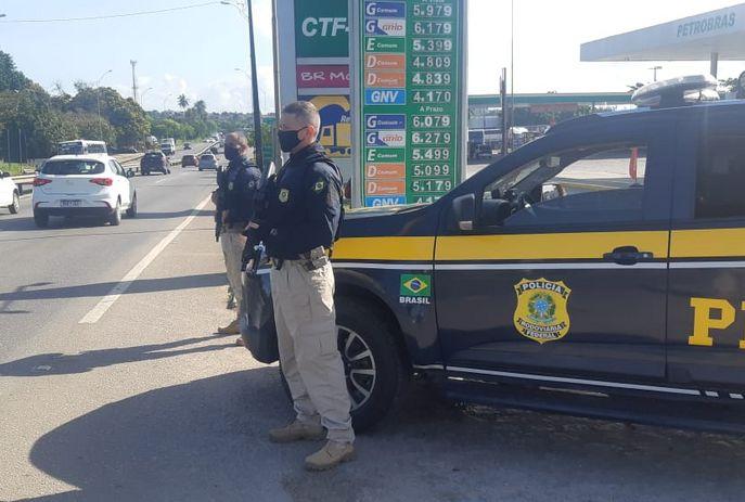 csm prf monitoramento prf j 253cfaa923 - PRF faz monitoramento nas rodovias e caminhoneiros negam bloqueios na Paraíba