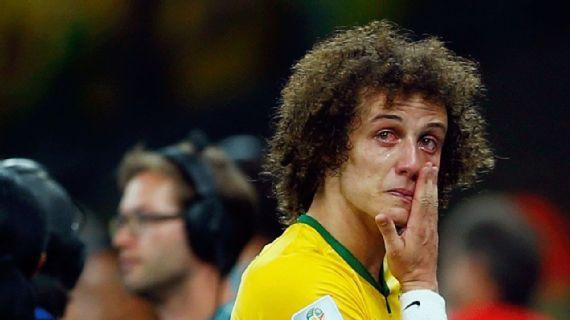 david luiz - David Luiz chega ao Flamengo ainda sob a sombra da derrota dos 7 a 1
