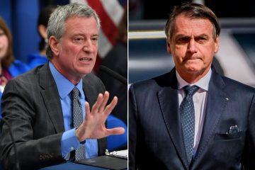 de blasio nyc 495 copy 360x240 - 'Se você não quer se vacinar, nem precisa vir', diz prefeito de Nova York a Bolsonaro