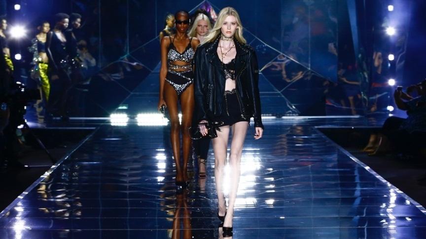 deg - Dolce & Gabbana ilumina semana de moda de Milão com desfile cintilante