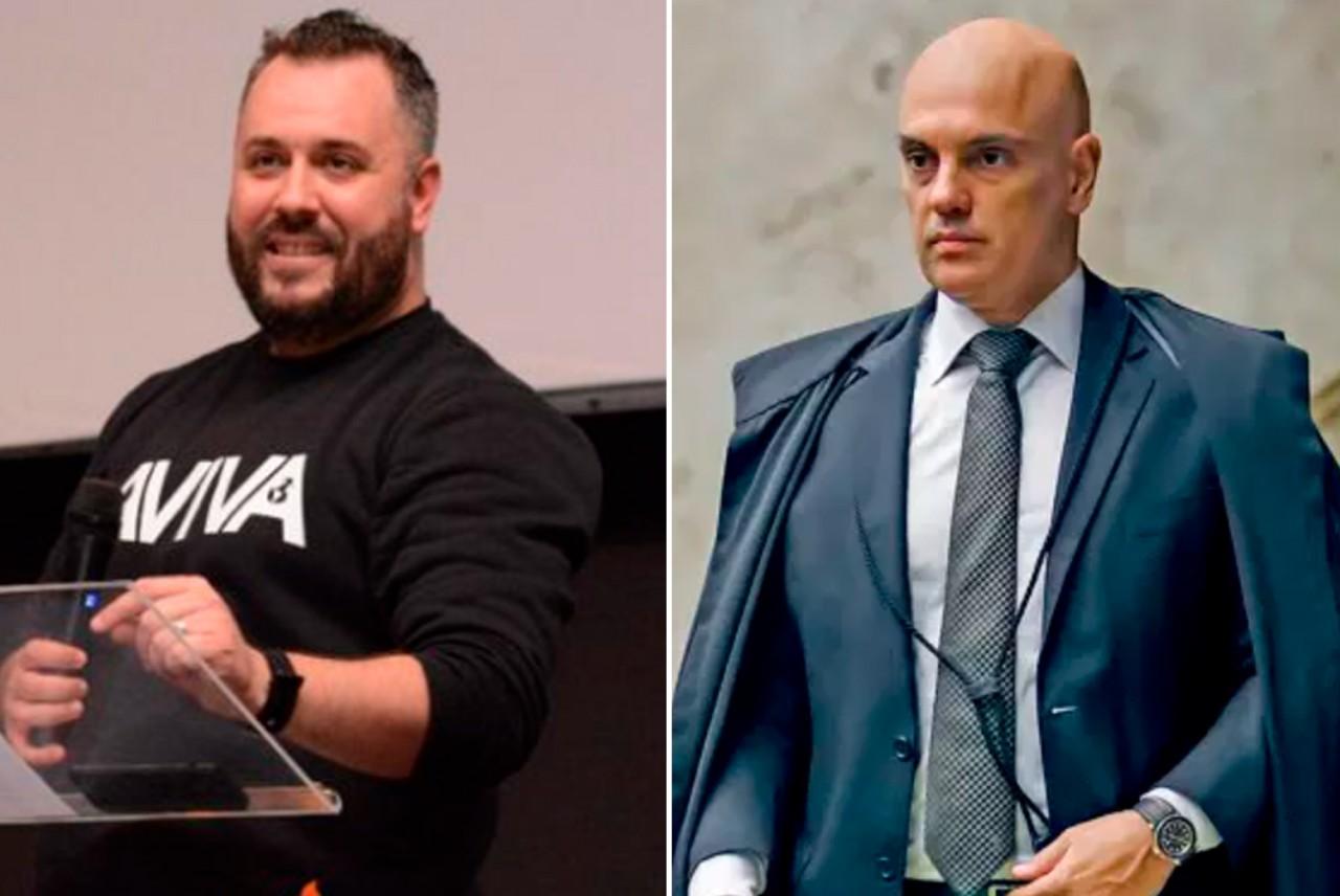 edson sturmer e alexandre de moraes - 'SONHO DADO POR DEUS': Pastor afirma que ministro Alexandre de Moraes será preso