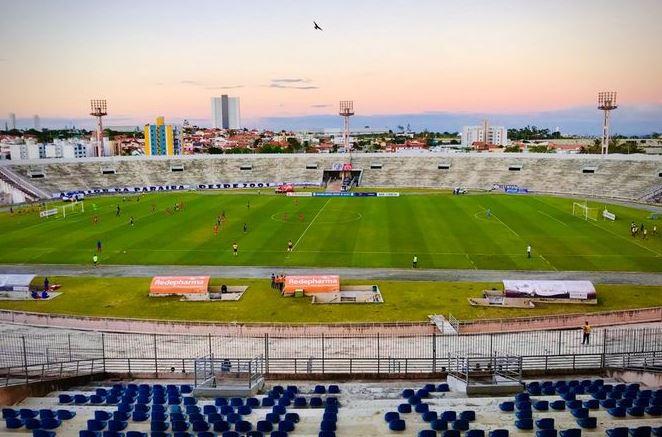 estadio - Estádio Amigão receberá 450 pessoas para jogo entre Brasil x Argentina
