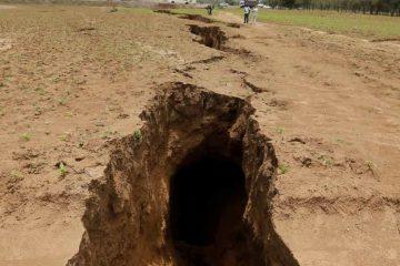 FENÔMENO NATURAL: Rachadura no Quênia pode ser indício que a África se dividirá ao meio– VEJA IMAGENS
