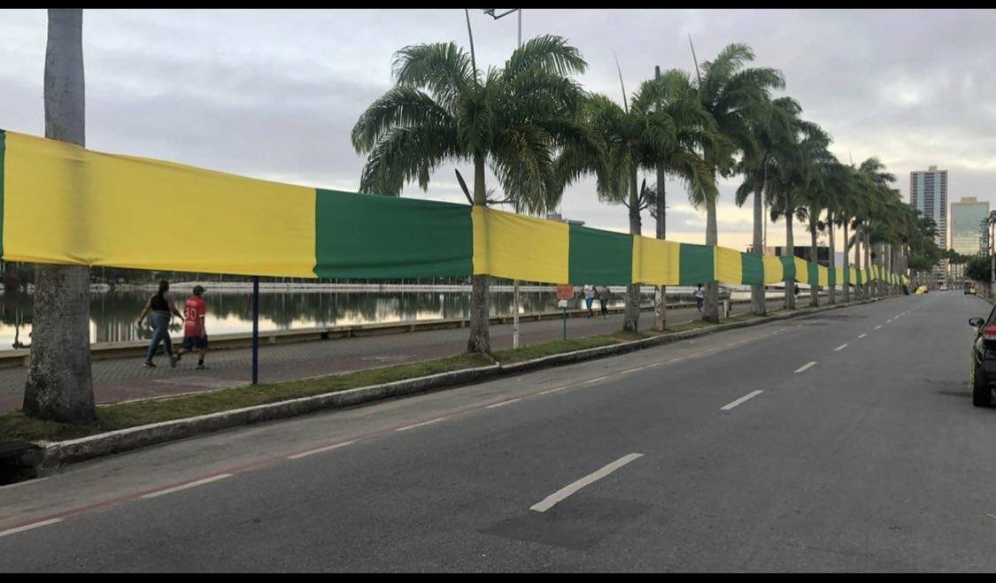 foto cg2 - Campina Grande já registra primeiras manifestações favoráveis e contrárias a Bolsonaro - VEJA IMAGENS