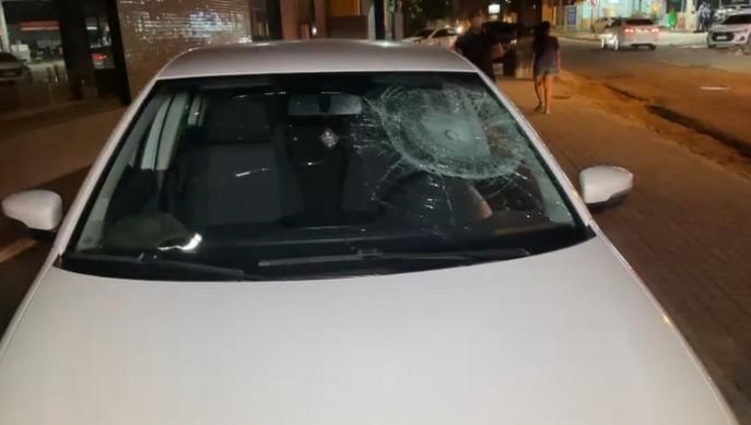 foto veiculo - Motorista com sinais de embriaguez causa acidente com motociclista em João Pessoa
