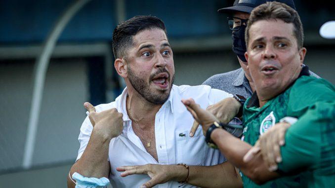 francisco sales briga e1631656215157 678x381 1 - Dirigente do Botafogo-PB dá detalhes de confusão antes e após jogo em Manaus