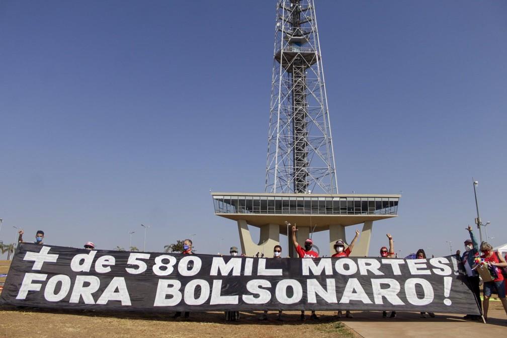 fup20210907237 - PROTESTOS PELO BRASIL: Veja imagens de atos contra Bolsonaro no 7 de Setembro