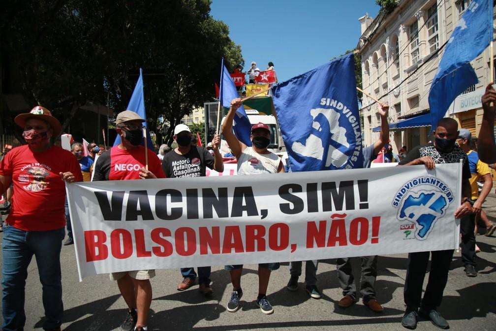 fup20210907392 - PROTESTOS PELO BRASIL: Veja imagens de atos contra Bolsonaro no 7 de Setembro