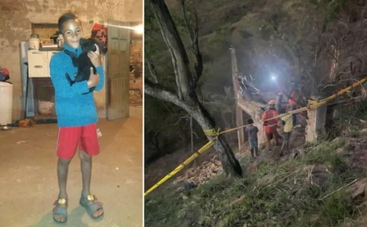 garr - Casa abandonada desaba e mata garoto que tentava construir casinha para cão