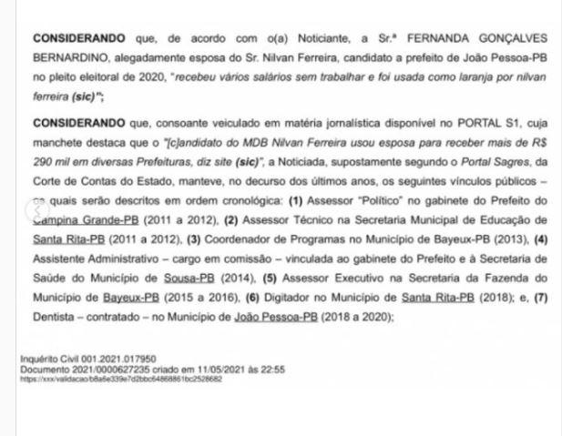 """ggg - Perfil intitulado Anonymous Paraíba divulga dados pessoais de Nilvan Ferreira: """"Não finja ser o que não é"""""""