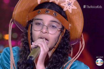 helloysa do pandeiro 360x240 - Paraibana se classifica para a final do 'The Voice Kids'; decisão acontece no próximo domingo