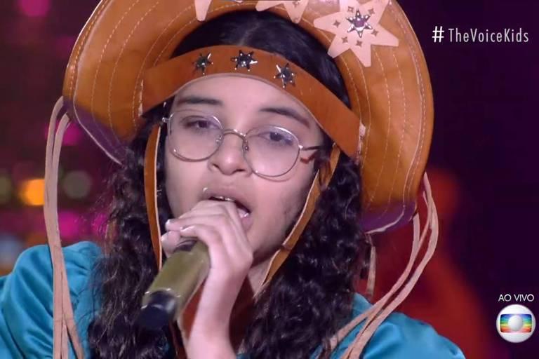 helloysa do pandeiro - Paraibana se classifica para a final do 'The Voice Kids'; decisão acontece no próximo domingo