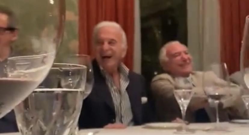 img 0929 - HUMILHAÇÃO NACIONAL: Bolsonaro vira piada em jantar de Temer com empresários - VEJA VÍDEO