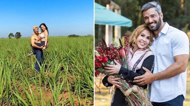 jo - Após desmentir affair com Joelma, fazendeiro assume namorada