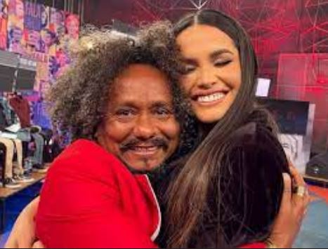 ju - No 'Altas Horas', Juliette faz show, encontra Chico César e ambos cantam juntos - ASSISTA