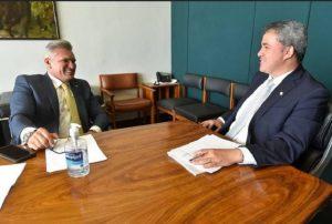 julian lemos efraim filho 300x202 - Fusão do DEM com PSL vai priorizar candidato próprio à Presidência, diz ACM Neto