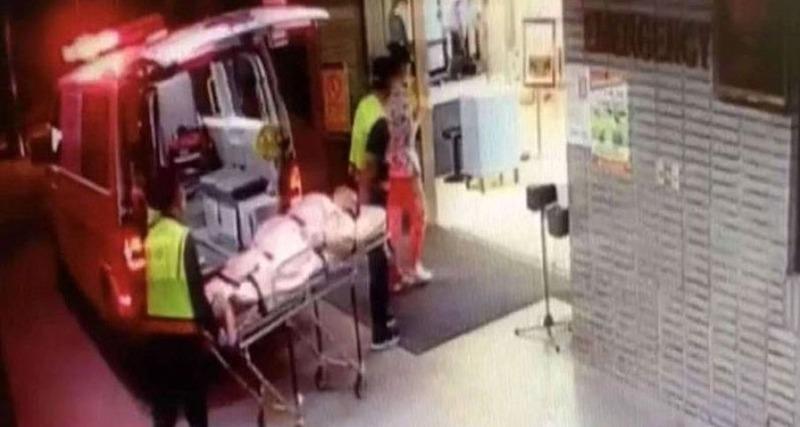 large caso homem - Fugindo da polícia, homem decepa órgão genital e o atira por janela de carro