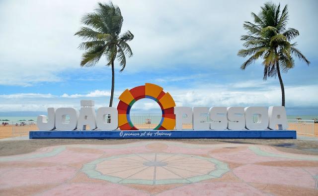 letreiroJoaoPessoa foto dayseeuzebio 11 scaled 1 - SETE MODALIDADES: João Pessoa sedia Jampa Beach Games a partir desta quarta-feira no Busto de Tamandaré