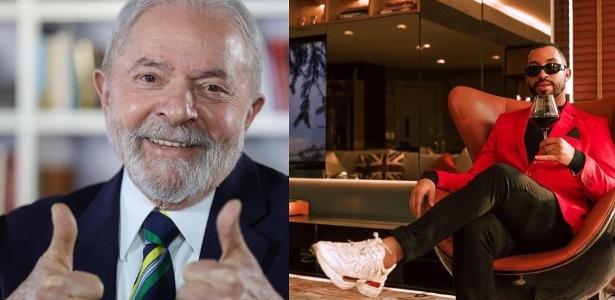 lula respondeu a comentario de gil do vigor nas redes sociais 1628605885988 v2 615x300 - Lula e Gil do Vigor viram um dos assuntos mais comentados do Twitter após entrevista