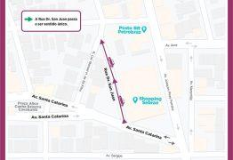 Trânsito no Bairro dos Estados sofre alteração a partir desta quinta-feira, em João Pessoa