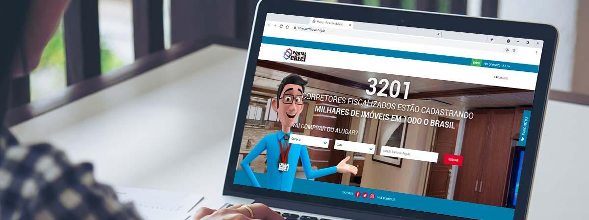 materia portal imobiliario - Corretores de imóveis têm à sua disposição, de forma gratuita, Portal Imobiliário