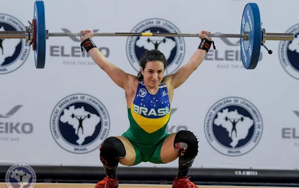 mayara panamericano - REPRESENTANDO A PARAÍBA: Mayara Rocha vai disputar Campeonato Brasileiro de Levantamento de Peso no RJ