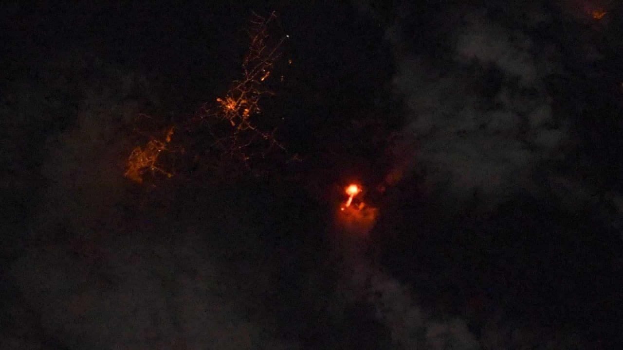 naom 614c4f40bfd71 scaled - Astronauta registra erupção do vulcão de La Palma vista do Espaço