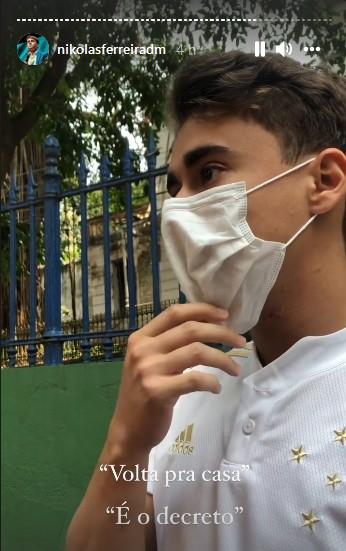 """nikolas - Sem comprovante de vacina, Vereador bolsonarista é barrado em ponto turístico: """"Tô bolado""""- VEJA VÍDEO"""