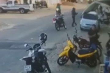 Câmera de segurança flagra assassinato de homem em Juru, no Sertão da Paraíba
