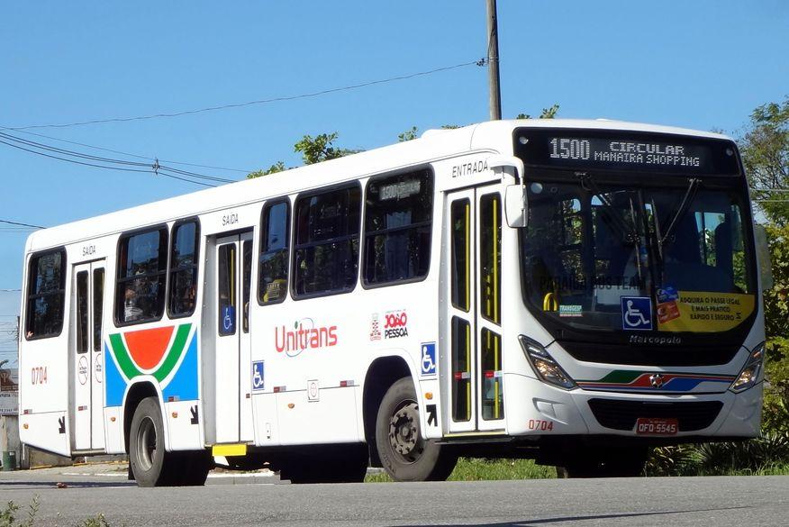onibus 1500 - 7 DE SETEMBRO: 42 linhas de ônibus circulam no feriado em João Pessoa