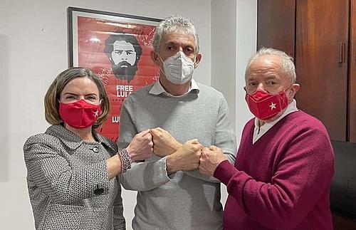 ricardo gleisi lula - Ricardo participará de evento com juventude petista, mas filiação não será neste sábado (04), diz partido