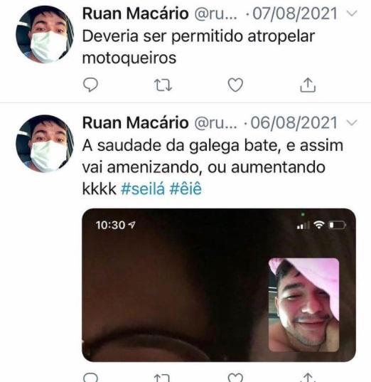 """ruan macario - TRAGÉDIA! Motoboy morre em acidente envolvendo carro em João Pessoa, e amigos acusam motorista: """"Estava embriagado"""" - VEJA VÍDEO"""