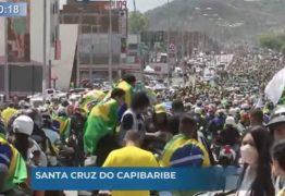 Bolsonaro participa de motociata em Pernambuco neste sábado (04); VEJA VÍDEO